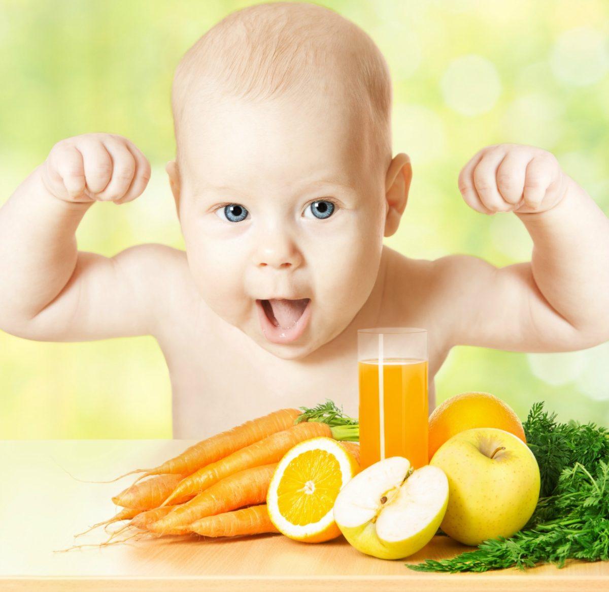 Raising a Healthy Baby Naturally